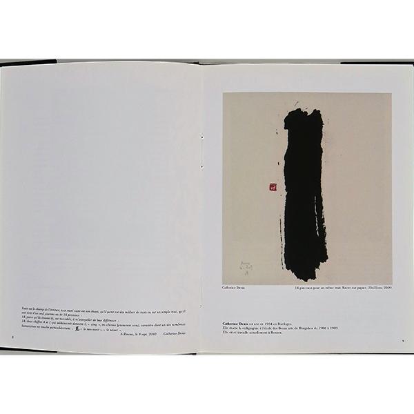 Catherine Denis artiste calligraphe française - 2010 - 2 Ombres et Lumières