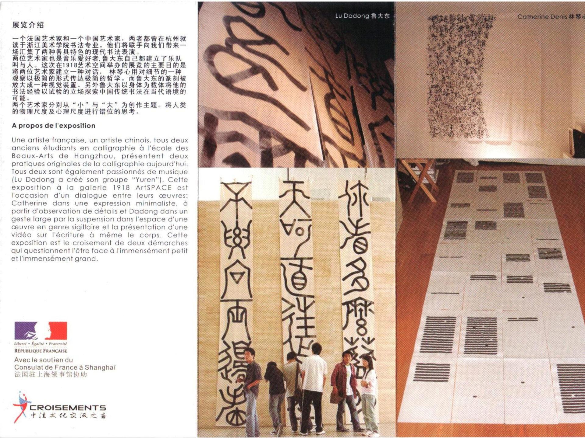 2008 - 1918 Artspace Gallery, Shanghai - avec LU Dadong
