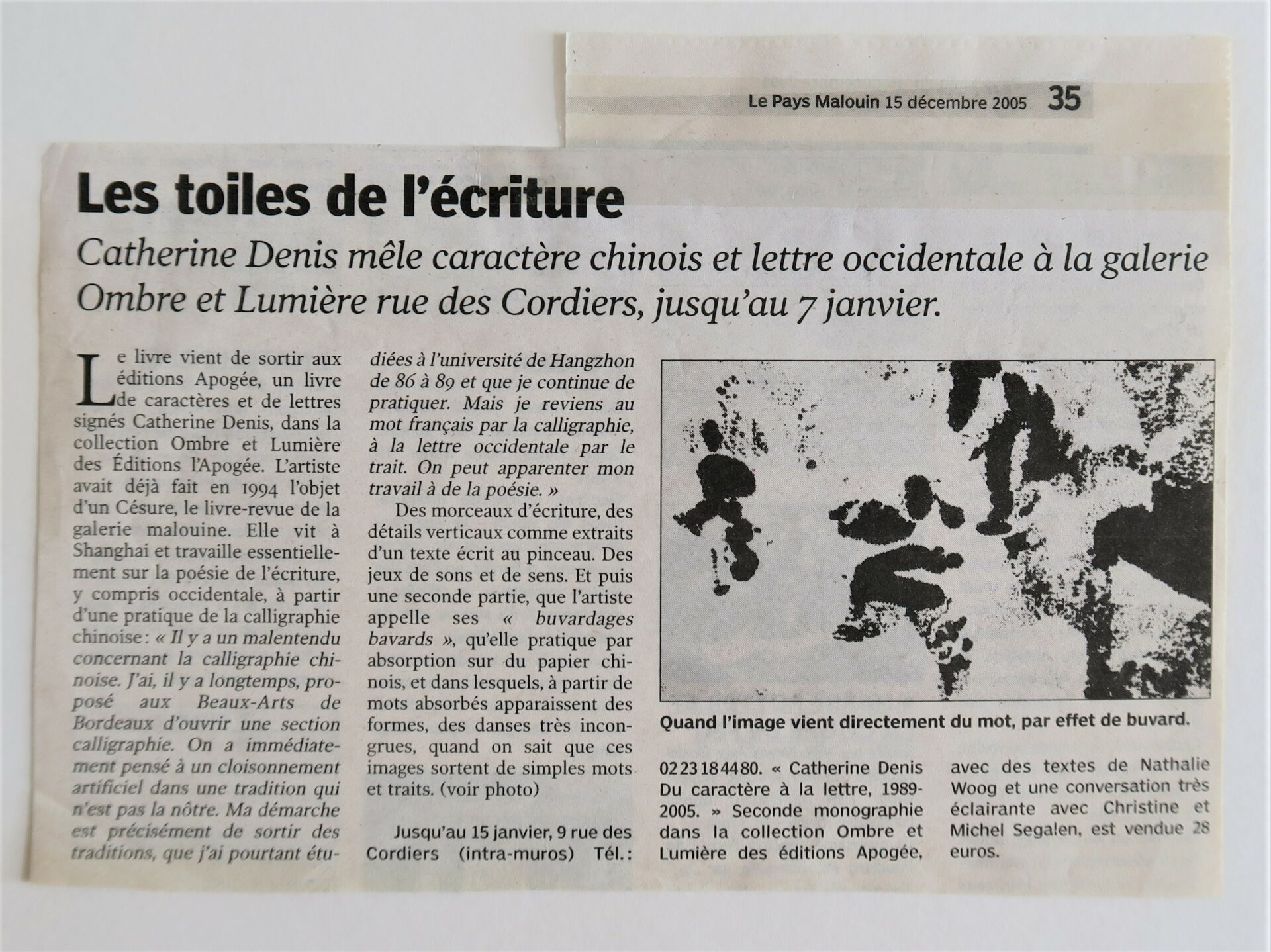 2005 - Le Pays Malouin