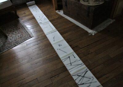 24 - Rouleau horizontal des reports petit format - 21cm 17m35 - Shanghai 2008
