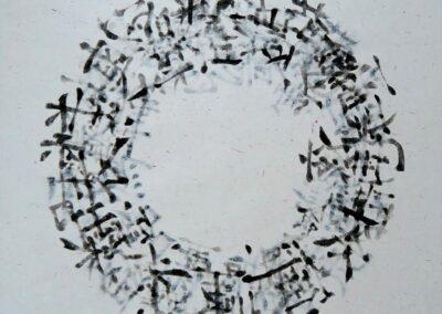 3 - Sphère calligraphique