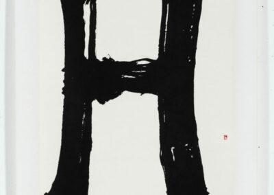 3/5 - lettre H - 200,5 x 81cm - Paimpol 1992