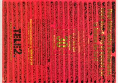 5 - 40 x 50cm Rennes 2001