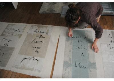 Le Message des pères - cocréation avec Catherine Fontaine (Lorient - 2012)