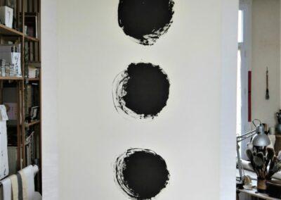 5 - trois temps d'une vie - Rennes 2010 - 200 x 82 cm
