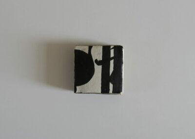 Strates calligraphiques - 6x6 x 2cm