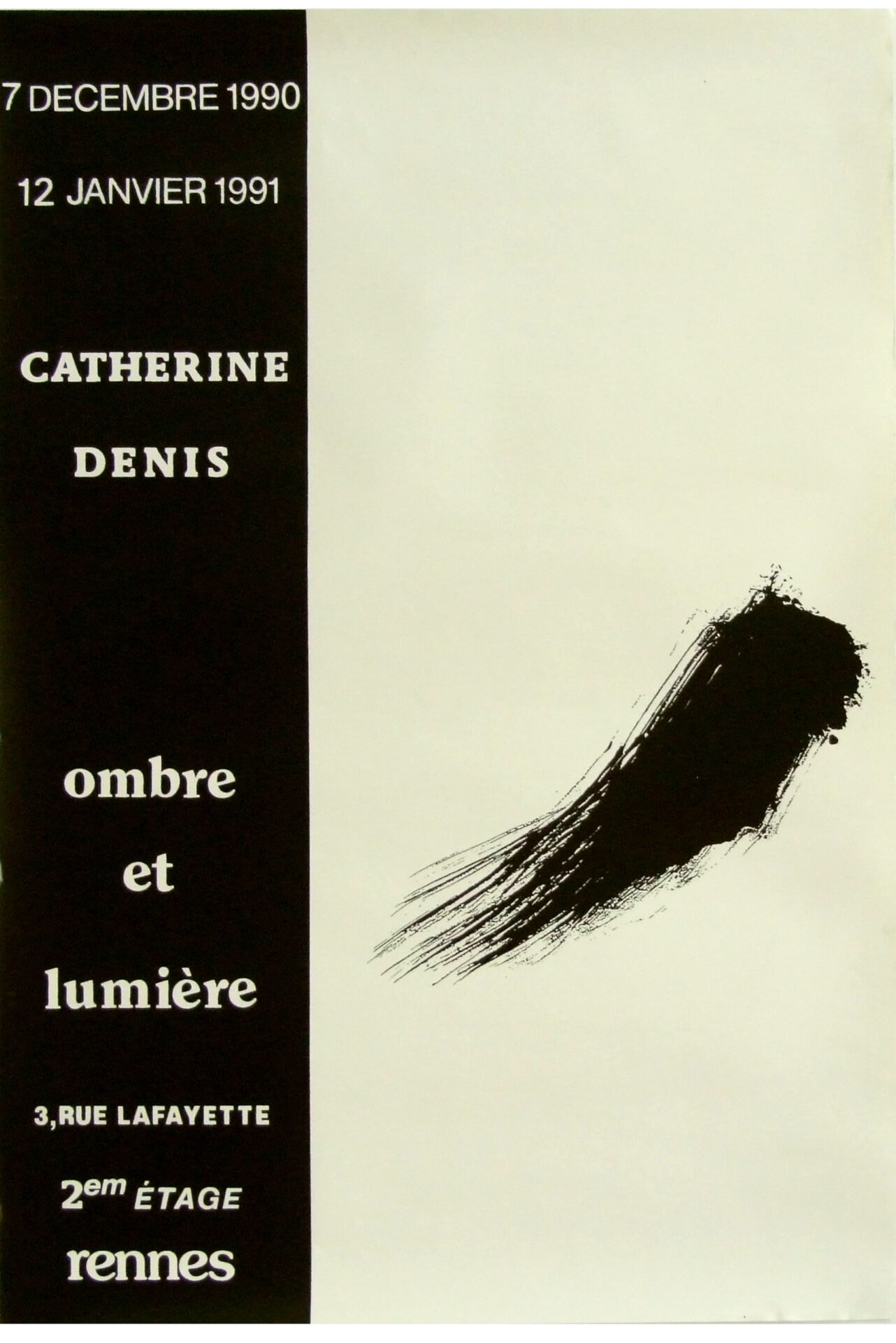 1990 - Galerie Ombre et Lumière, Rennes (35)