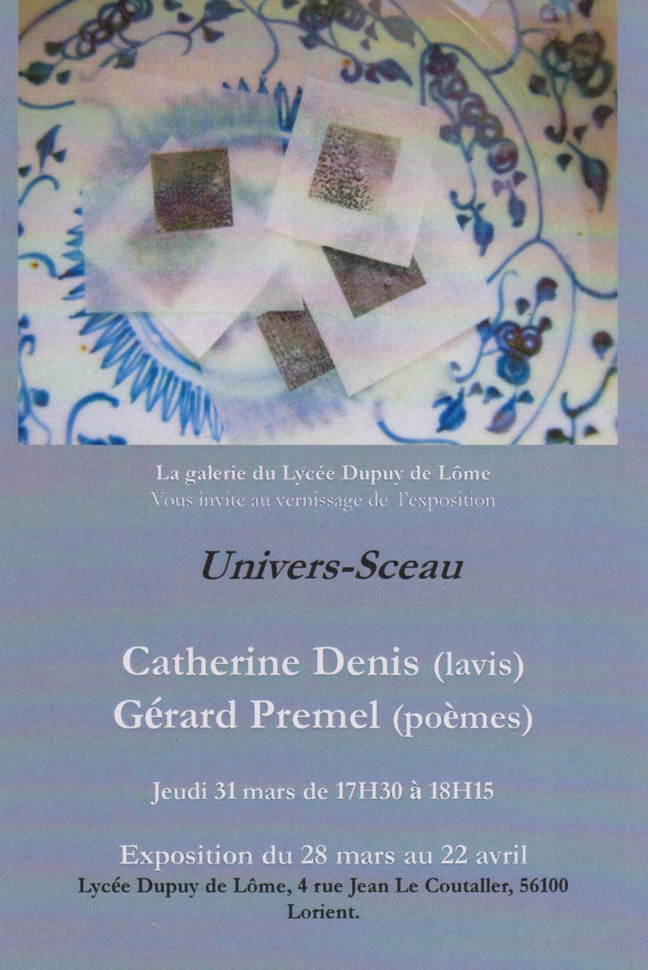2011 - galerie du lycée Dupuy de Lôme - Lorient